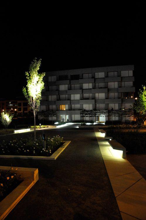 nice lighting 13 OKRA LANDSCHAPSARCHITECTEN Kirchberg « Landscape Architecture Works | Landezine