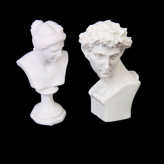Cute 1:12 Scale Miniature Dollhouse Ceramic People Figurine Statue Ornaments