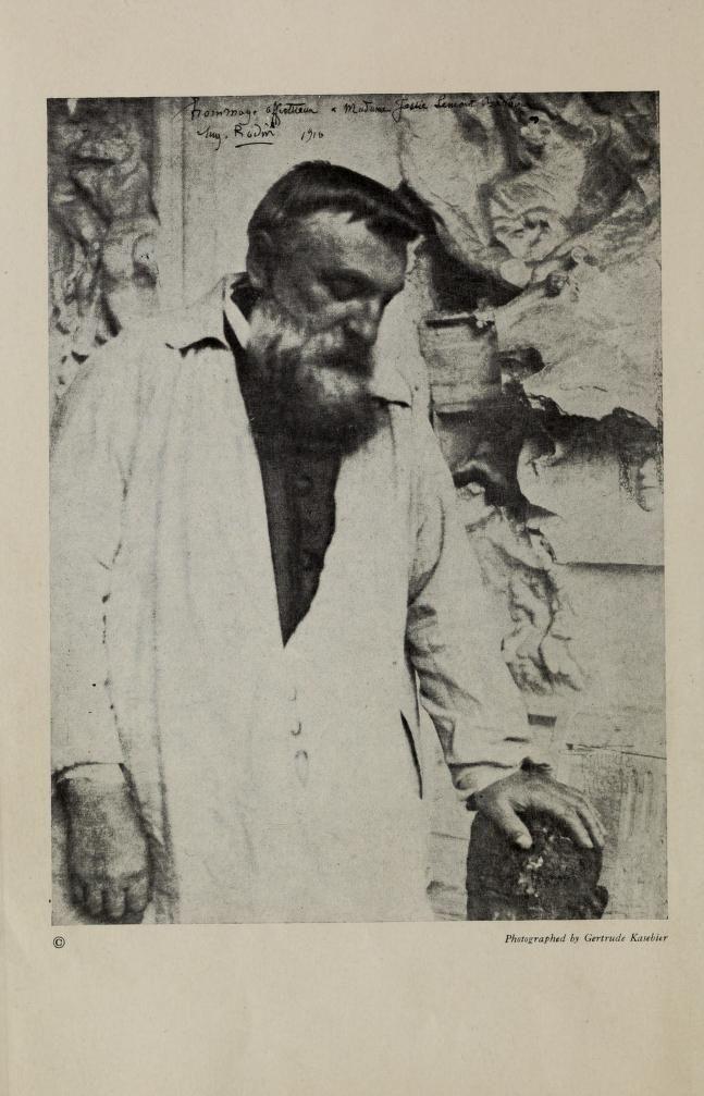 Rainer Maria Rilke, August Rodin, 1919