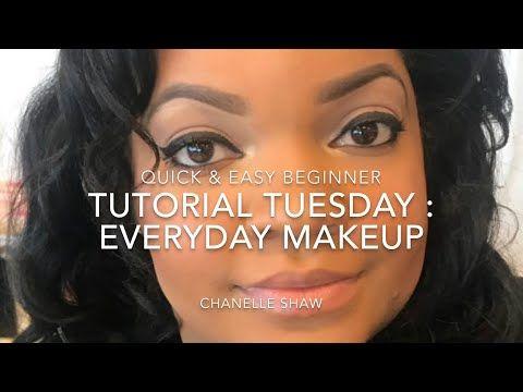 quick  easy everyday work or school makeup  beginner