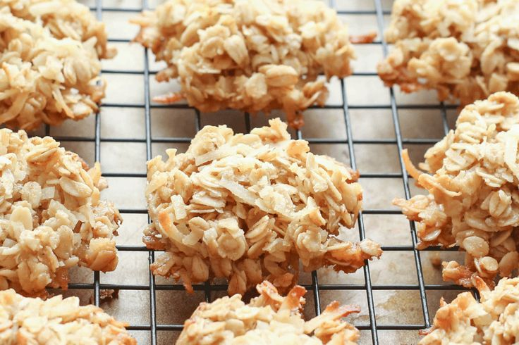 Chewy Coconut Oatmeal Cookies recipe by Barefeet In The Kitchen