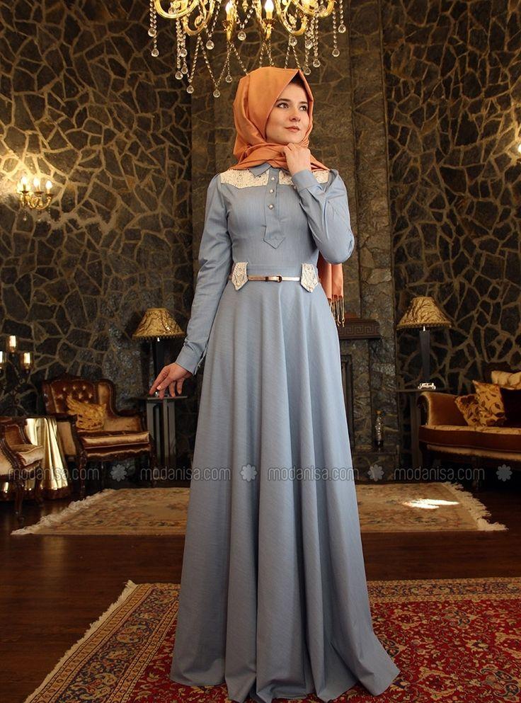 Denim Dress - Blue - Mevra
