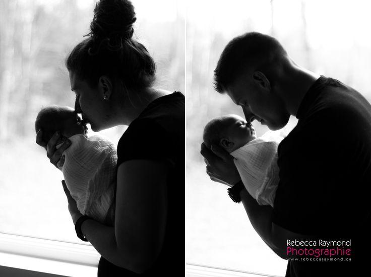 Newborn idea photography with parents