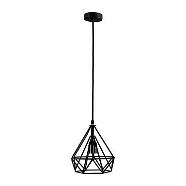 Retro Pendant,1 Light,Shape of Diamond E26/E27  For Game Room, Kids Room, Bathroom, Living Room #Affiliate