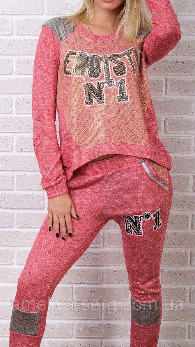 """Модные женские """"Эгоист"""" брендовый гламурный спортивный костюм Турция XS S M L XL 50 52 54  для повседневной носки"""