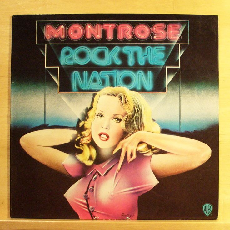 MONTROSE Rock the Nation - Vinyl LP - Space Station # 5 Rock Candy Sammy Hagar