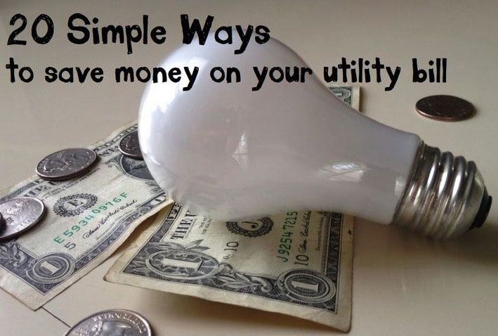 20 Simple Ways to Save Money on Your Utility Bill