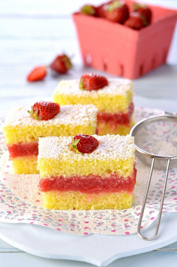 Sprinkles платье: сливочный лимонный торт и клубники