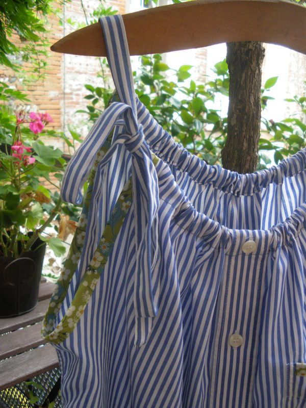 DIY - Recycler une chemise d'homme