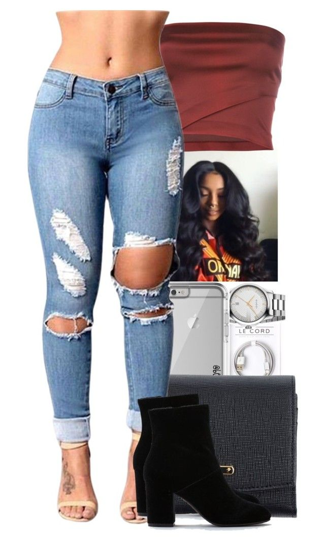""""""" casual date night """" by itstonyee ❤ liked on Polyvore featuring Fendi, Romeo Gigli and American Eagle Outfitters"""