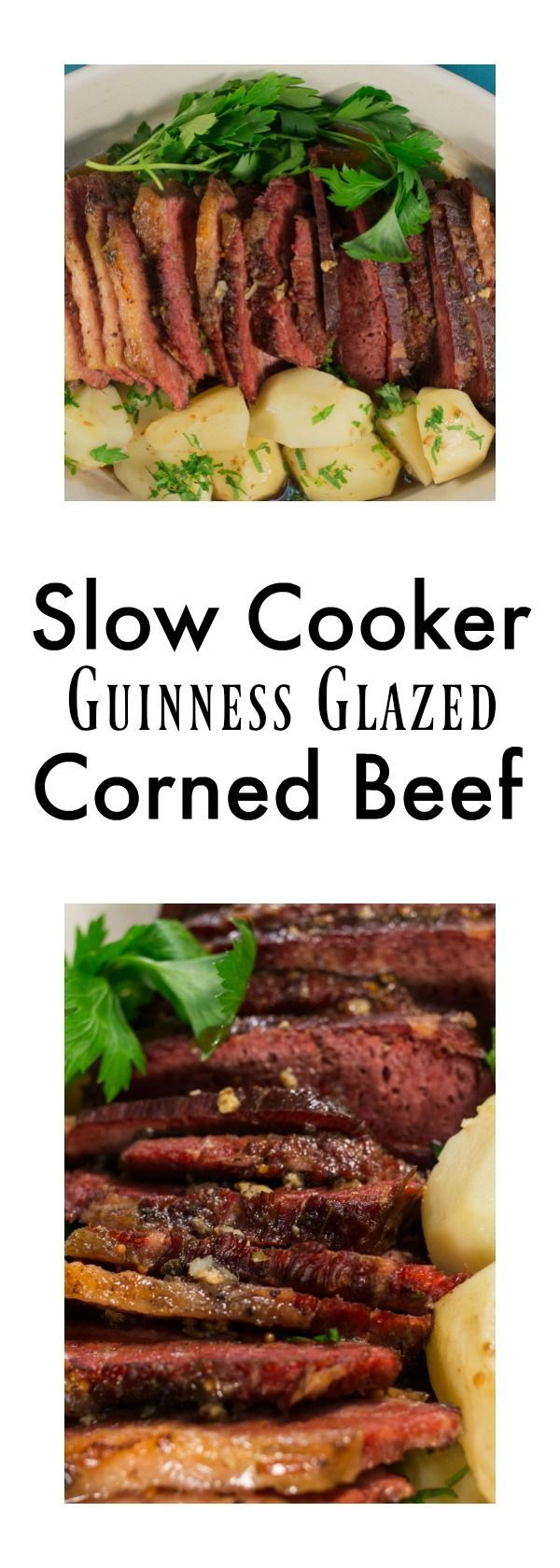Slow Cooker Guinness Glazed Corned Beef–St Patrick's Day is right around the corner. Make an easy corned beef in your slow cooker to celebrate!