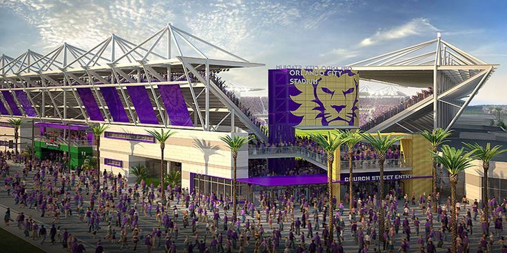 The new Orlando City Soccer Club Stadium rendering have been revealed! ... and she is a beauty!