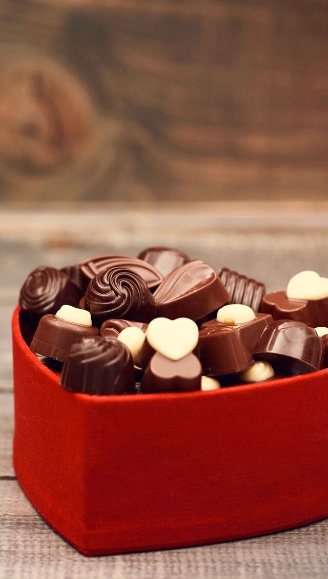 Bombones de chocolate. Mmmm