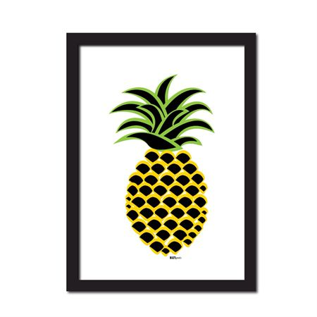 The Big Pineapple print | HAZYprints | madeit.com.au