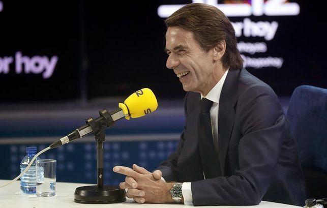 Aznar se desentiende de su herencia de corrupción en el PP y el Gobierno