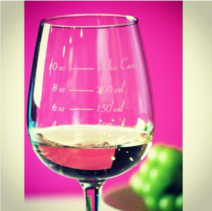 Calories on wine lol
