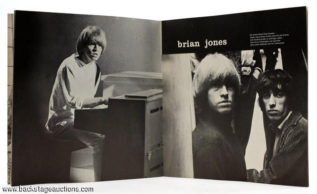 1596: The Rolling Stones 1965 U.S. Tour Program Academy of Music, N.Y. - Store - Backstage Auctions, Inc.