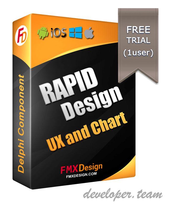 RDesign UX + Chart for Delphi FMX v1.1