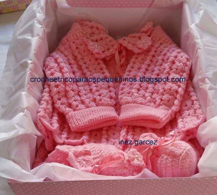 Ola, boa tarde amigas, conjunto de crochê   para bebes. Iguais a esse tem vários   aqui no Blog. Estou repetindo   postagens, me desculpem...