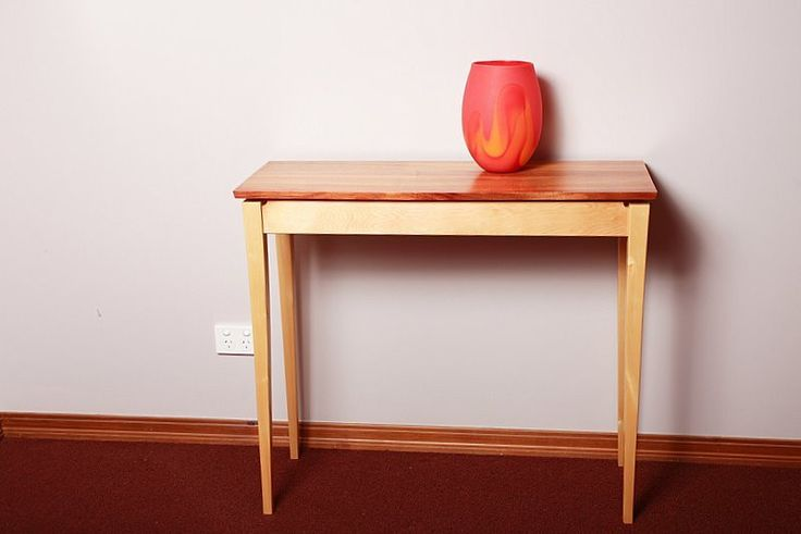Blackwood & Huon Pine Hall Table   Australian Woodwork - FREE Gift Wrapping - FREE Handwritten Gift Card - Fast Same Day Shipping - FREE Shipping for orders over $100 - Our usual Money Back Quality Guarantee!