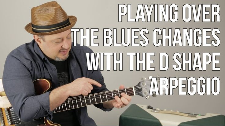 Using Arpeggios For Playing Over Blues Changes - Blues Guitar Lessons - ...