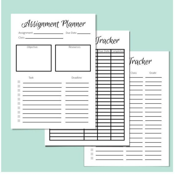 This is a free weekly homework sheet template to help keep track of students   daily homework and reading assignments    Pinterest   Student  Homework and