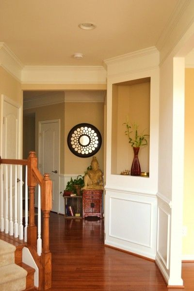 Foyer Paint Colors Sherwin Williams : Sherwin williams kilim beige whats ur home story