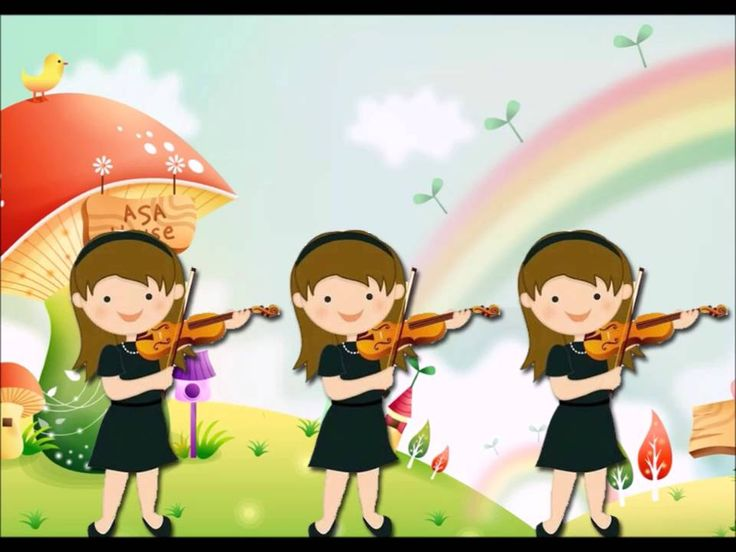 musicograma, vals de las flores (Tcahikovsky)