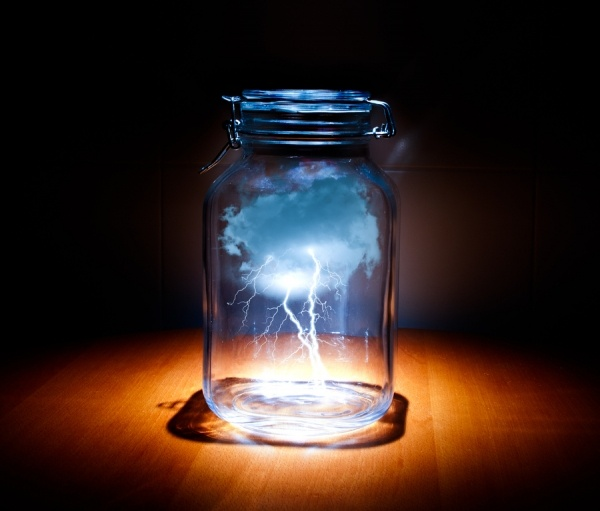 lighting in a jar. Lightning In A Bottle Lighting Jar