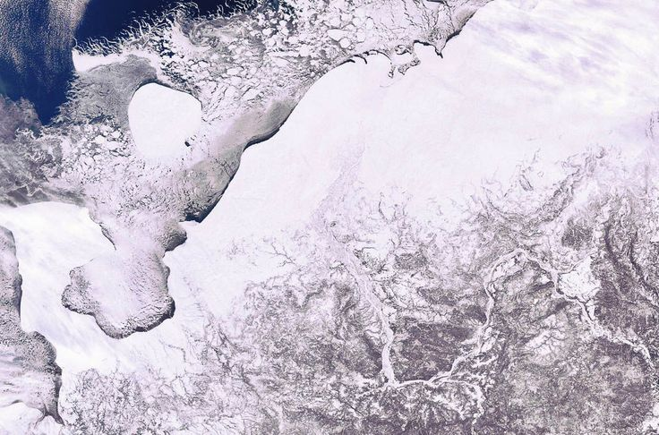Как выглядит Россия из космоса? (20 фото)