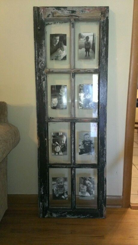 I <3 this repurposed window frame!