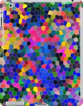 Abstract Mosaic 5 - iPad case
