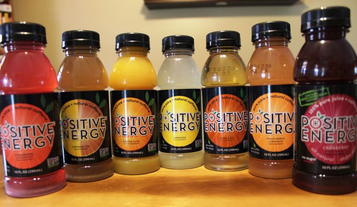 Positive Energy Drinks - Front Porch Reviews   Natural ...