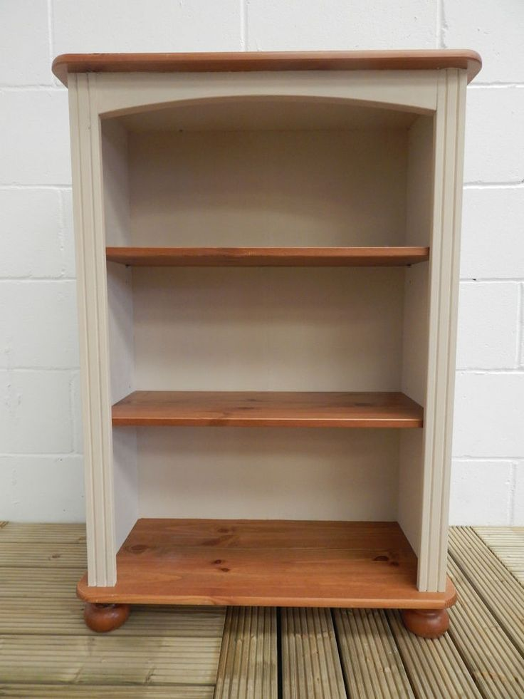Pine Bookcase Painted In Annie Sloan Old Ochre Sold