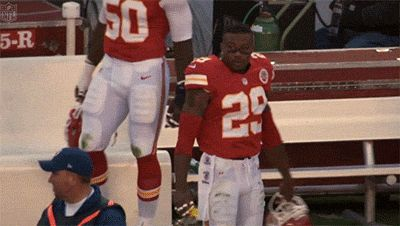 Eric Berry and his fear of Warpaint. | 11 Reasons You Should Start Loving The Kansas City Chiefs