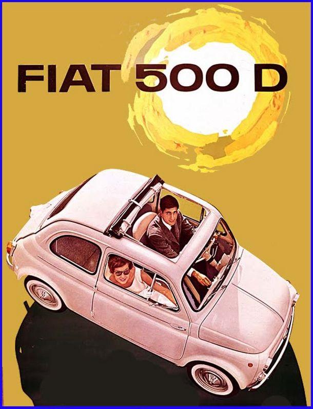 Fiat 500 D Ad