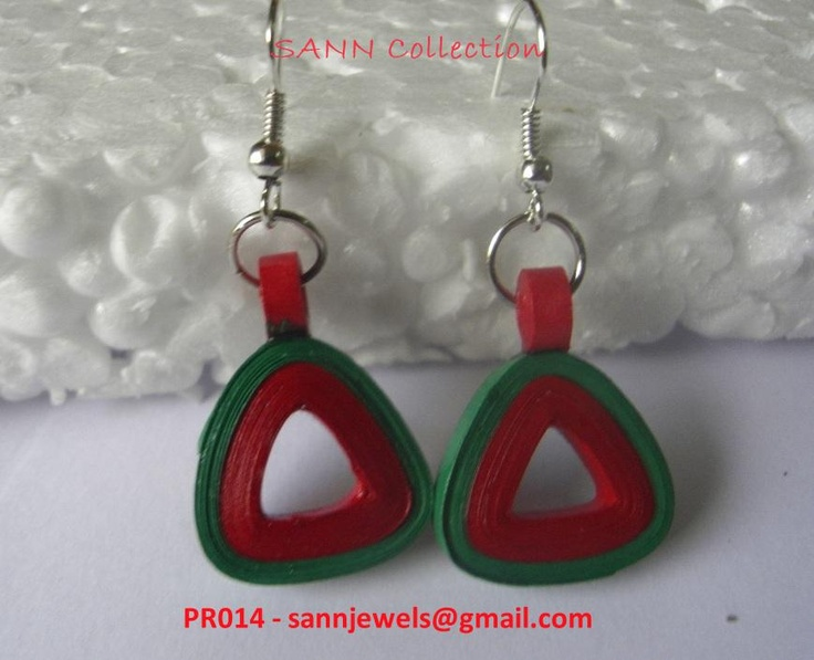 Its a beautiful combination of red n green.