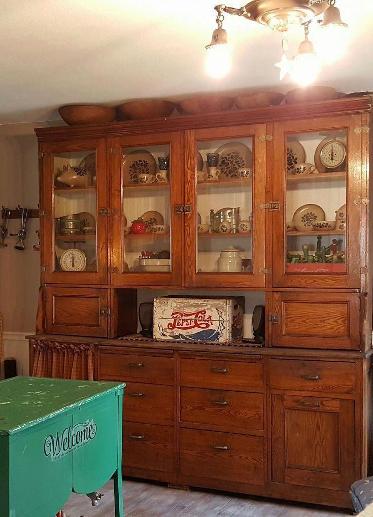 #kitchencupboards | Antique kitchen cabinets, Kitchen ...