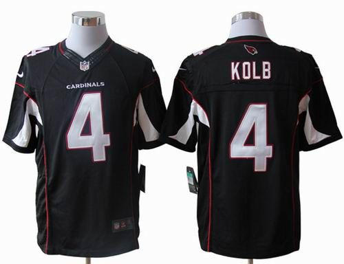 nike cardinals kevin kolb black alternate mens stitched nfl limited jersey cheap arizona cardinals jersey show your support for your favorite team and
