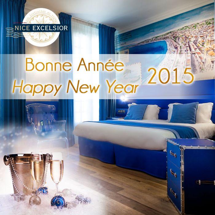 L'hôtel Nice Excelsior vous souhaite une belle et heureuse année 2015. The hotel Nice Excelsior wishes you all the bes for 2015.