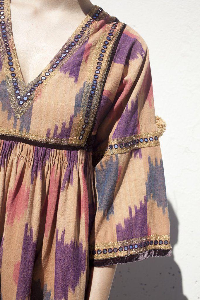 Ulla Johnson Sibi Dress in Ikat...simple and beautiful