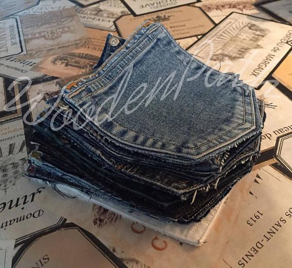 Denim Jeans Recycled 20 Reclaimed Pockets