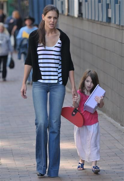 Katie Holmes & Suri Cruise's Mother-Daughter Style