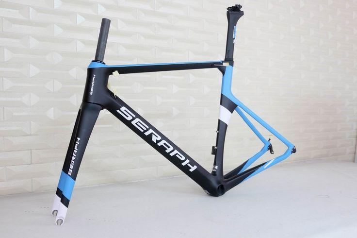 499.00$  Buy here - http://aliu1a.worldwells.pw/go.php?t=32785630076 - 2017 new paint 700C Road Bike Carbon Fiber Stiff Aero Racing Bicycle Frame+Fork+Seat Post+Clamp Frameset  499.00$
