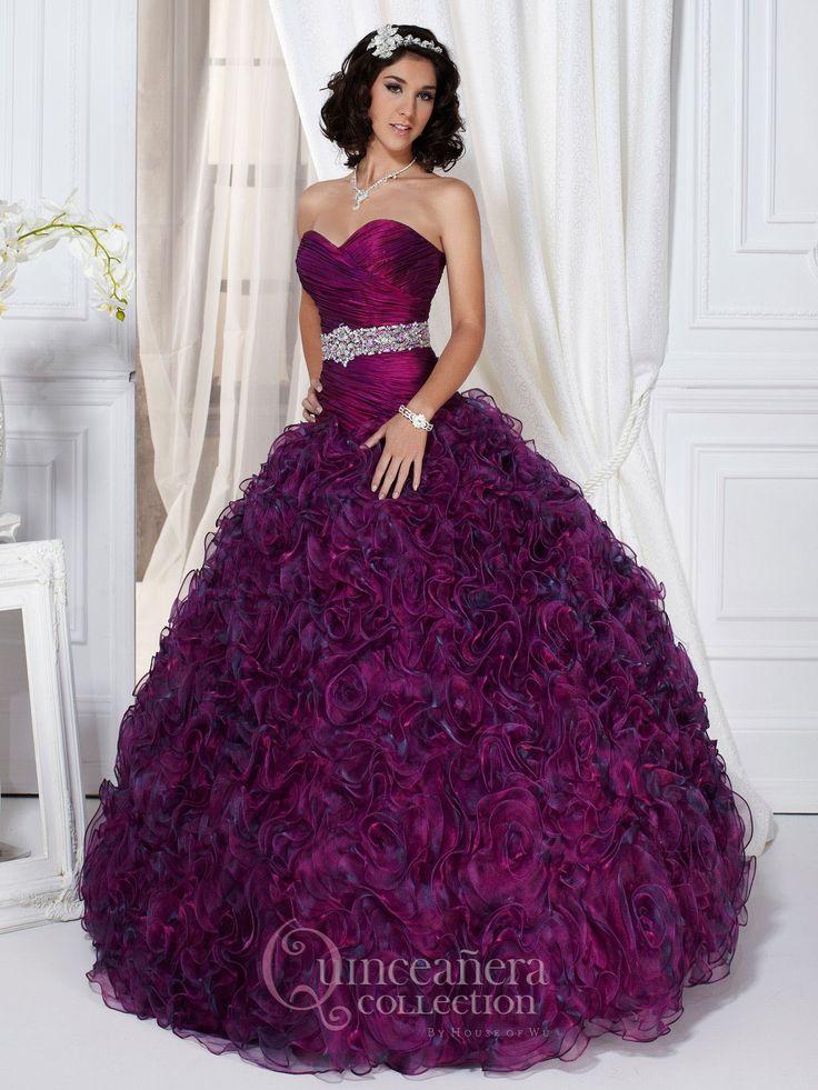 Mejores 103 imágenes de Quinceañera Dresses en Pinterest