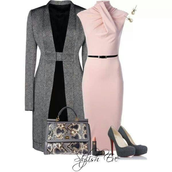 Chic and sleek...will look great with a low bun hairstyle