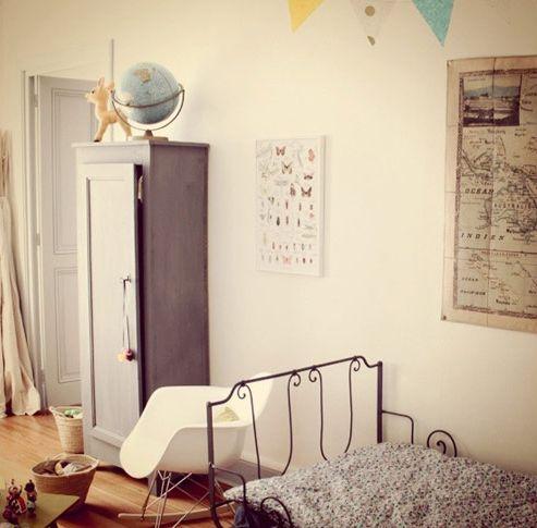 Dormitorio infantil Dormitorio Infantil vintage y moderno: Kids Bedrooms, Nice Bedrooms, Children Rooms, Kids Spaces, Big Girls Rooms, Playrooms Bedrooms, Kids Rooms, Beautiful Bedrooms, Vintage Rooms