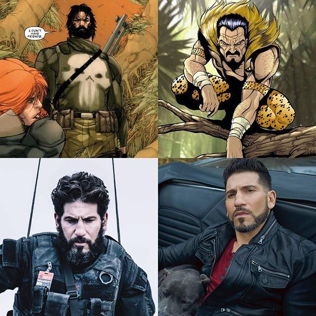Reposting @wednesdaycomix: In addition to the Punisher, could Jon Bernthal play dual roles as Kraven the Hunter?