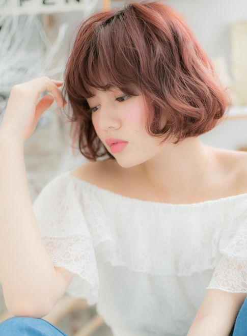甘辛MIX☆攻めの個性的ボブ 【mod's hair 上尾店】 http://www.beauty-navi.com/style/detail/57562?pint ≪ #red #pink #hairstyle・ヘアスタイル・髪形・髪型・赤・ピンク・レッド≫
