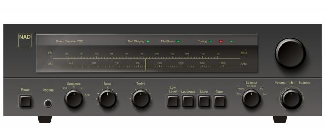 My first amp/tuner. In other words a receiver. NAD 7020